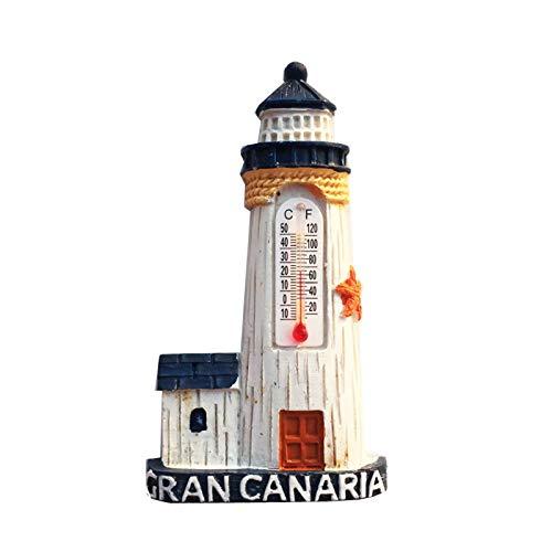 Gran Canaria España Imán de Nevera 3D Resina de la Ciudad de Viaje Recuerdo Colección de Regalo Fuerte Etiqueta Engomada refrigerador