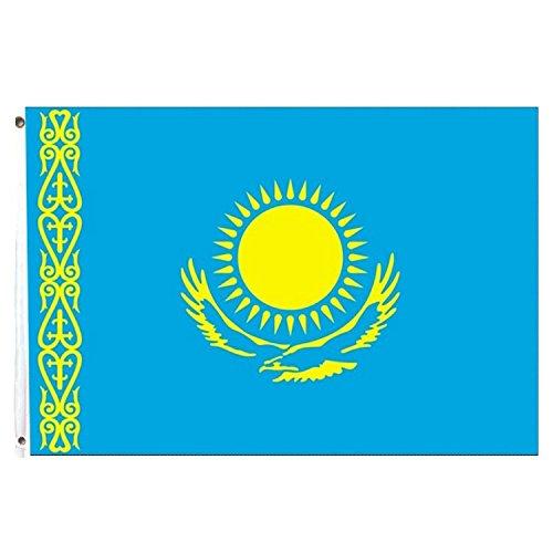 Bandera de Kazajistán 150x 90cm