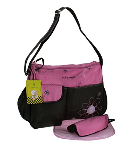 GMMH 3-delig baby kleur roze bruin luiertas verzorgingstas luiertas babytas reis kleurkeuze