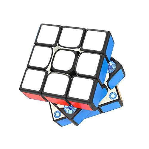 Alician Dayan Magic Cube Tengyun V2 M 3x3x3 Smooth Magnetic Speed Cube Juguete Educativo Negro