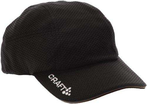 Craft Schildkappe Running Cap, Black, One size