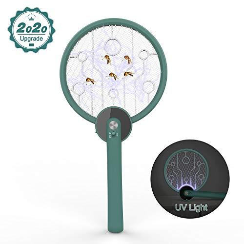 VONLUXE Lámpara Antimosquitos Bug Zapper, 2020 Nuevo Lámpara Antimosquitos como luz Ultravioleta Atrae a los Insectos Voladores USB Powered Asesino de Insectos, Lampara Mosquitos, Matamoscas