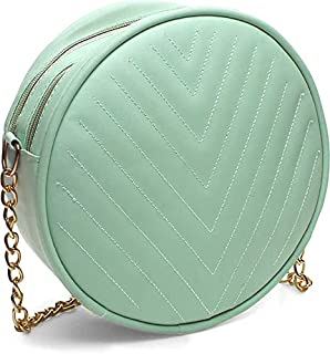 IRMAO New Latest Cute Round Design sling bag Collectionn for Women & Girls Pack of 1