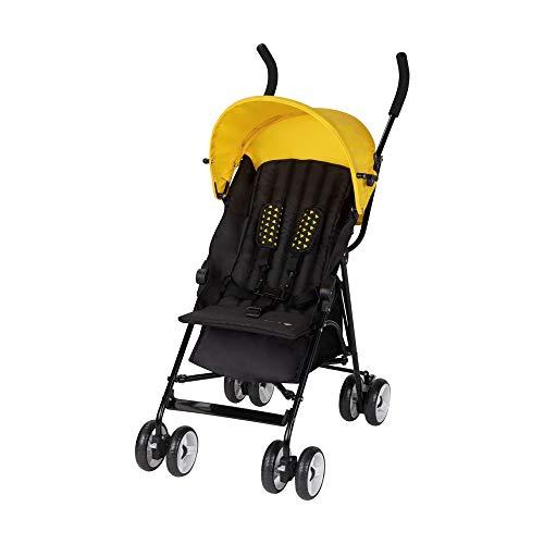 Safety 1st Kiplo, silla de paseo compacta, silla de paseo ligera, para uso desde el nacimiento hasta los 3 años aproximadamente, Yellow Triangle