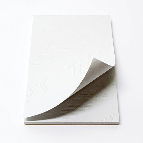 両面改ざん防止加工のメモ帳 B7サイズ(91*128) 上質紙 約50枚綴 (天糊 加工)