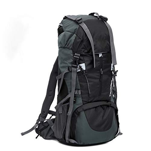 Hiking Backpacks Outdoor Waterproof Sports Gym Bag Sports Hiking Bag Travel Mountaineering Bag Camping Large Capacity 65 + 5L Waterproof Nylon Backpack (Color : E)