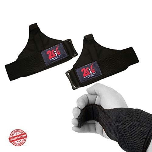 2Fit Your Fitness Partner Gewichtheben, Haken, Gurte, Klimmzug-Handschuhe, Handgelenkstütze, Power-Training, Fitness-Handschuhe