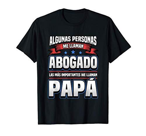 Hombre Regalo Para El Día Del Padre De Un Abogado Con Una Frase Camiseta