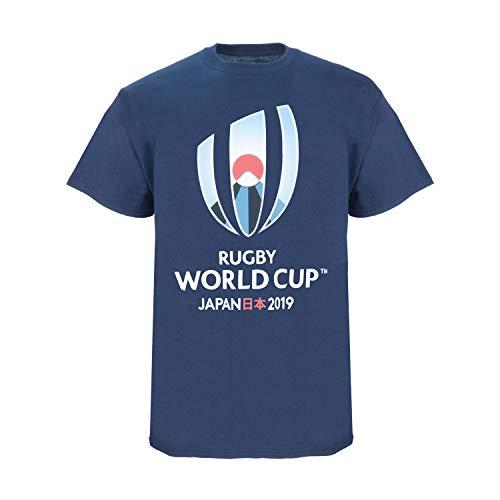 RWC 2019 Large Logo T-Shirt Gr. L, navy