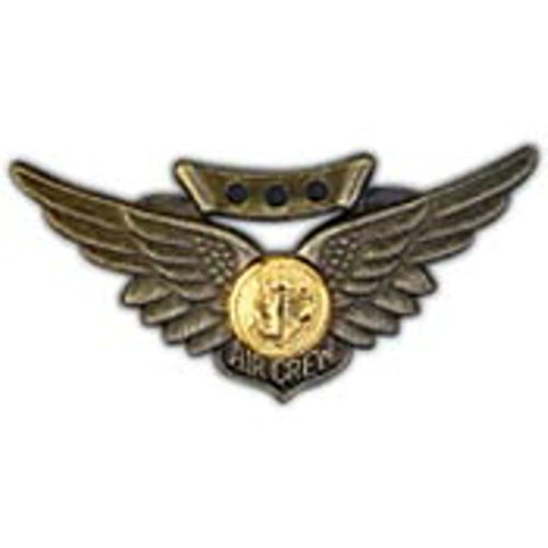 EagleEmblems P16096 Wing-USN,Combat Aircrew (2'')