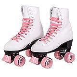 C SEVEN C7skates Quad Roller Skates | Retro Design (Candy Pink,...