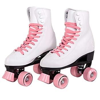 C SEVEN C7skates Quad Roller Skates | Retro Design  Candy Pink Women s 8 / Men s 7