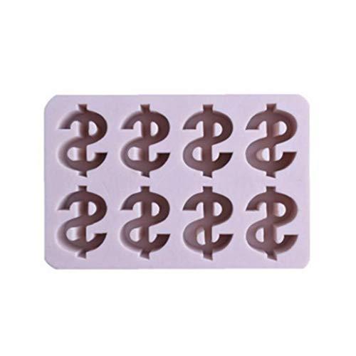 Zonster 1pc 3D DIY Us Símbolo del Dólar Muestra del Dinero Molde De Silicona Símbolo De Moneda De La Pasta De...