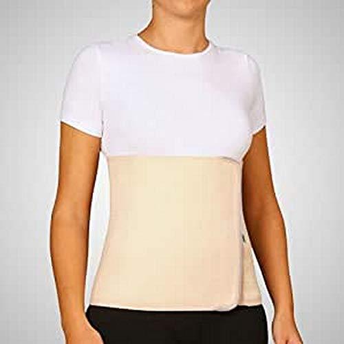 Banda abdominal de algodón con velcro color beige diferentes tallas Emo talla l (95-115 cm)