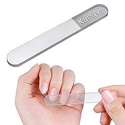 【2020年改良版】kanavi 爪やすり 爪磨き ガラス製