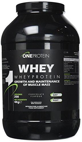 One Protein Whey integratore alimentare a base di proteine del siero del latte concentrate mediante...