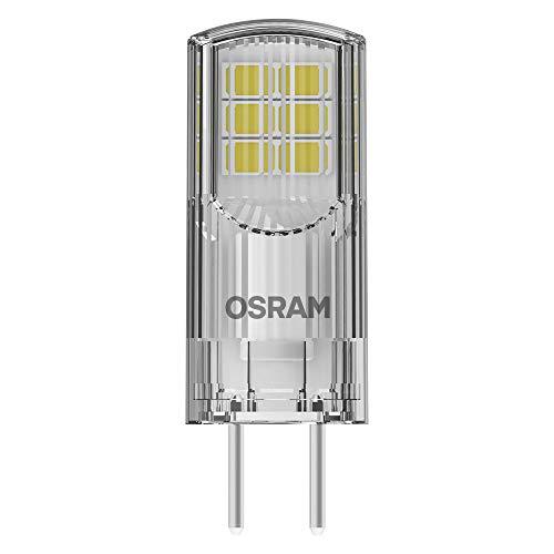 OSRAM LED Pin Lampe mit GY6.35 Sockel, Warmweiss (2700K), 12V-Niedervoltlampe, 12V-Niedervoltlampe, 2.6W, Ersatz für herkömmliche 30W-Lampe