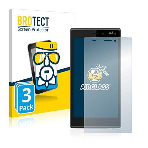 BROTECT Protector Pantalla Cristal Compatible con Wiko Ridge 4G Protector Pantalla Vidrio...