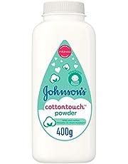 JOHNSON'S Newborn Baby Powder - CottonTouch, Cornstarch based 400g