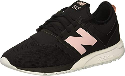 New Balance 247v1, Zapatillas para Mujer, Negro (Black/Himalayan Pink EP), 37.5 EU