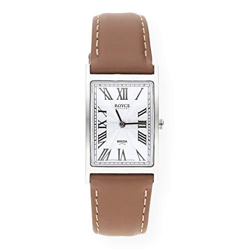 Boccia Damen Analog Quarz Uhr mit Leder Armband 3285-03