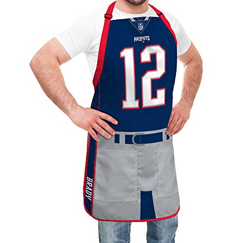 Party Animal Tom Brady New England Patriots Player Tablier en Jersey