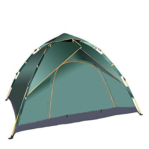 HONEYY Multi-Mann Zelte Zelte Outdoor Reisen automatisch Zelte 3-4 Personen Zelten 225 * 215 * 140 cm automatisch