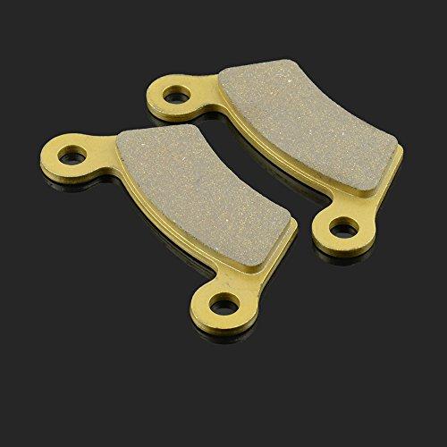 Preisvergleich Produktbild Fast Pro Schnell Pro 110.65 X 54, 5 x 7.92 mm 1 Paar Hinten Bremsbeläge für CAN-AM Spyder SM 5 GS990 0811 Spyder Phantom Schwarz 2009 Spyder RT 1012