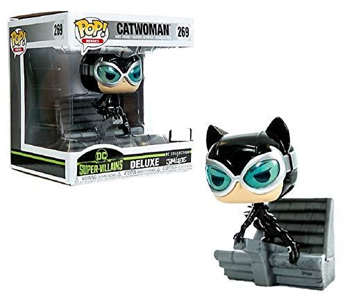 Funko Pop! DC Super Villains Catwoman Deluxe Hush Jim Lee Exclusive Vinyl Figure