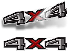 4x4 Decals for Trucks Ford Ranger Replacement Sticker (2019-2020) (Set of 2) (Small 14.5