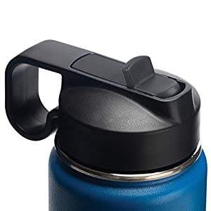 Thermoflask Double Stainless Steel Insulated Water Bottle, 24 oz, Cobalt