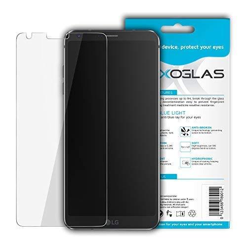 Flexoglas Pellicola LG G6 Flessibile Filtro Luce Blu Vetro Temperato Antiurto AntiGraffio Protettiva Resistente Vetrino Proteggi Display Trasparente Durezza 9H Compatibile con LG G6 H870