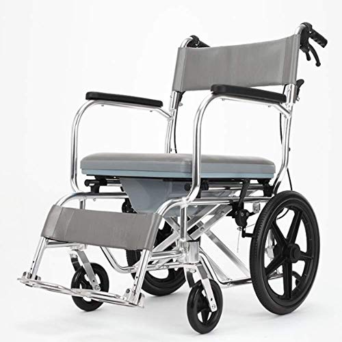 Yadianna Wheelchairs Lightweight Folding Wheelchair Driving Medical