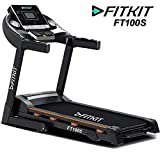 Fitkit FT100S Series 1.75HP (3.25HP Peak) Motorized Treadmill With Free at Home Installation...