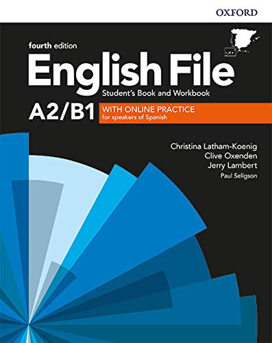 English File 4th Edition A2/B1. Student's Book and Workbook with Key Pack (English File Fourth...