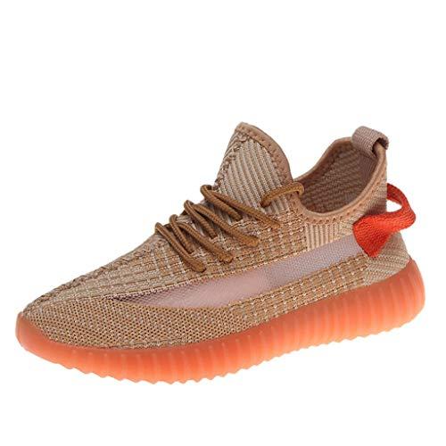 URIBAKY Damen Mesh Outdoor Sneakers,Joggingschuhe für Frauen Turnschuhe-Sportschuhe-Trainingsschuhe-Plateauschuhe Sneaker,Fitnessschuhe with Surface Luminous Casual Running Shoes