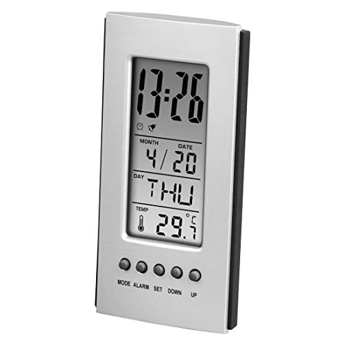 Hama 00186357 Innenthermometer Electronic environment thermometer Silver