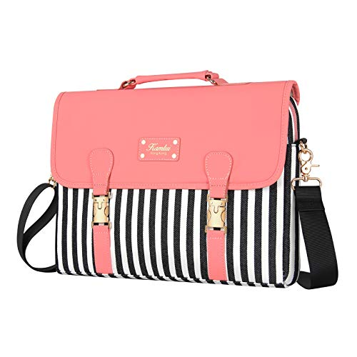 Kamlui Laptop Bag 13.3 Inch - for Women PU Computer Laptop Case Shoulder Messenger Macbook Pro Air