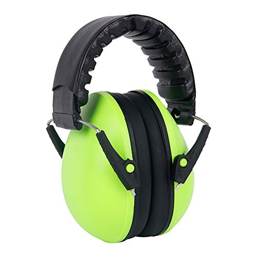 mettime Baby Protectores auditifs auditivos para Cascos de oídos capazo Infant antirruido Auricular Dormir étudier avión, Verde