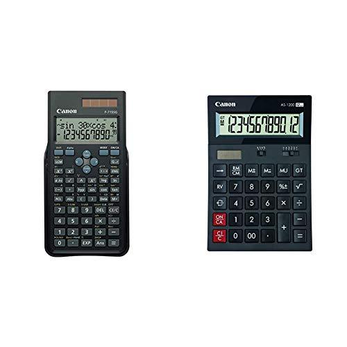 Canon 411967 Calcolatrice Scientifica & As 1200 Calcolatrice