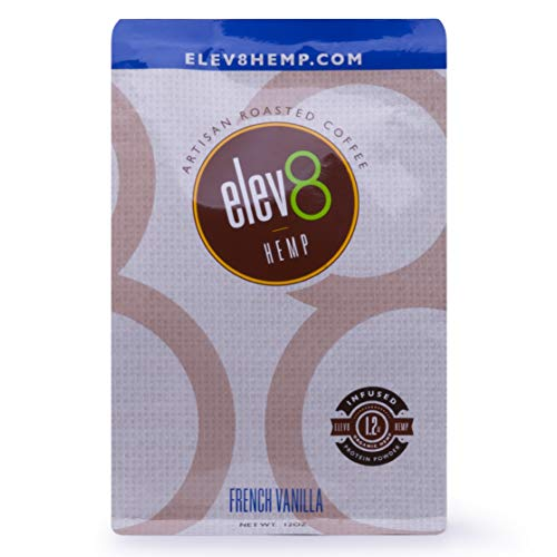 Elev8 Hemp Coffee - French Vanilla 12 oz