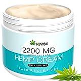 Natural Hemp Cream for Pain Relief, Active Hemp Oil Cream, Organic Hemp Herbal