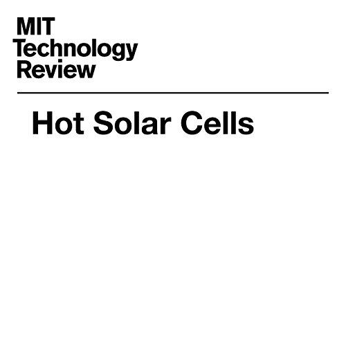 Hot Solar Cells cover art