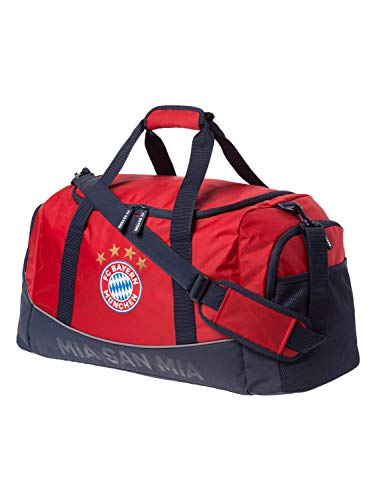 FC Bayern München Sporttasche MIA SAN MIA rot, FCB, Geschenk