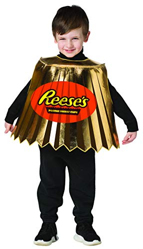 Hershey's Reese's Peanut Butter Cup Mini Candy Costume Size Child Size 3-6
