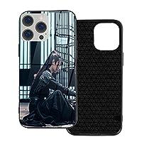 The Untamed Iphone 12 Pro シリーズtpuガラス電話ケースtpuソフトシェル+強化ガラスシェル、落下防止保護