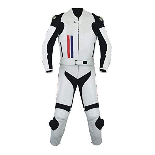 Corso Fashion Herren Motorrad Lederkombi - Motorrad Rennsport Schutzkleidung Bikerausrüstung - Maßanfertigung Style141