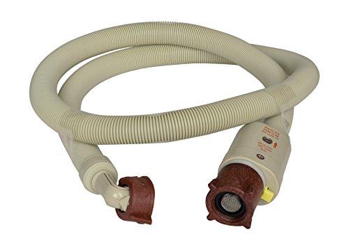 Zulaufschlauch | Mit integrierter Schlauchplatzsicherung | Spül- und Waschmaschinenschlauch | Geräteanschluss-Zulaufschlauch | 200 cm