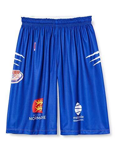Rouen Metropole 2019-2020 Official Home Basketball Shorts unisex/_adult SHORT/_DOM/_ROUEN