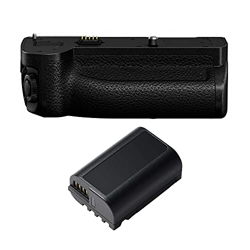 Panasonic DMW-BGS5 Battery Grip with DMW-BLK22 Battery Pack Bundle for LUMIX S5 (2 Items)